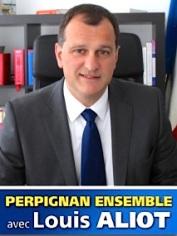 Louis Aliot - candidat tete de liste Perpignan Ensemble - Elections Municipales 2014
