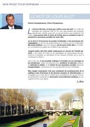 Les mots de Louis Aliot - Mon projet pour Perpignan Municipales 2014