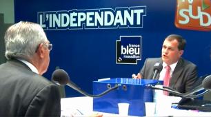 Debat Louis Aliot (FN RBM) face a Jean-Marc Pujol (UMP UDI PS) - 2e tour Municipales 2014 Perpignan