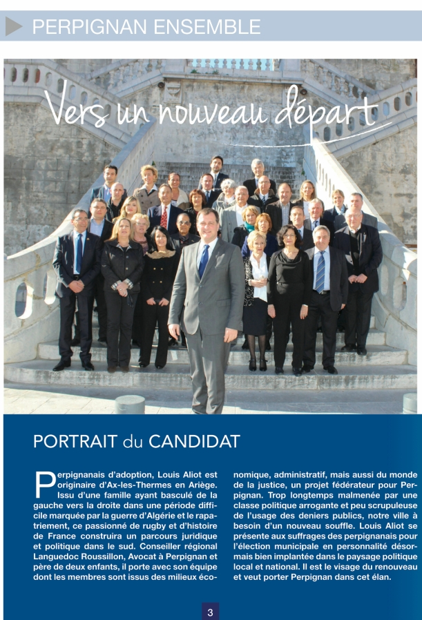 Portrait de Louis Aliot - Mon projet pour Perpignan Municipales 2014