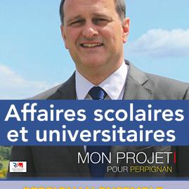 Découvrir : http://enavantperpignan.com/2014/03/10/perpignan-ensemble-affaires-scolaires-et-universitaires/
