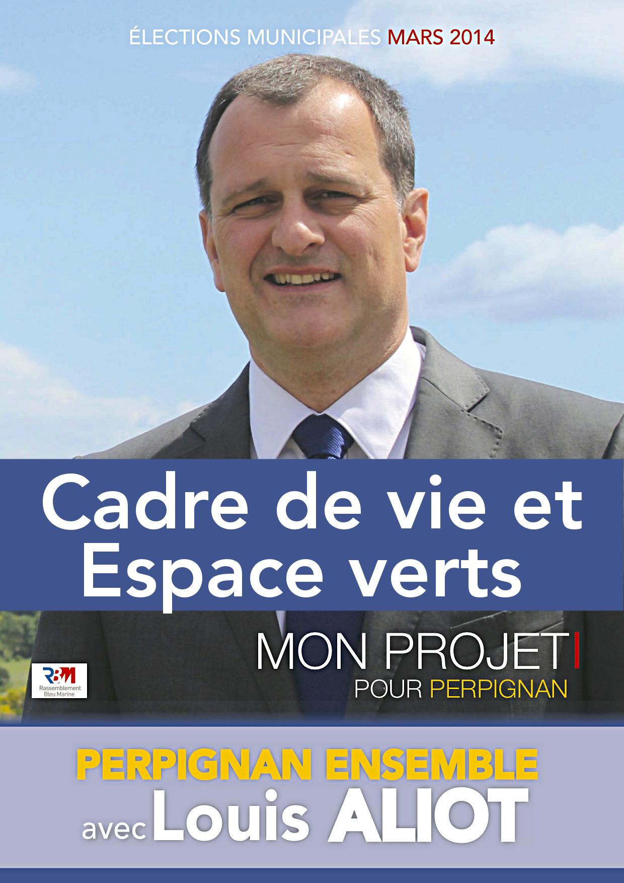 Programme cadre de vie et espaces verts projet pour for Espace vert perpignan